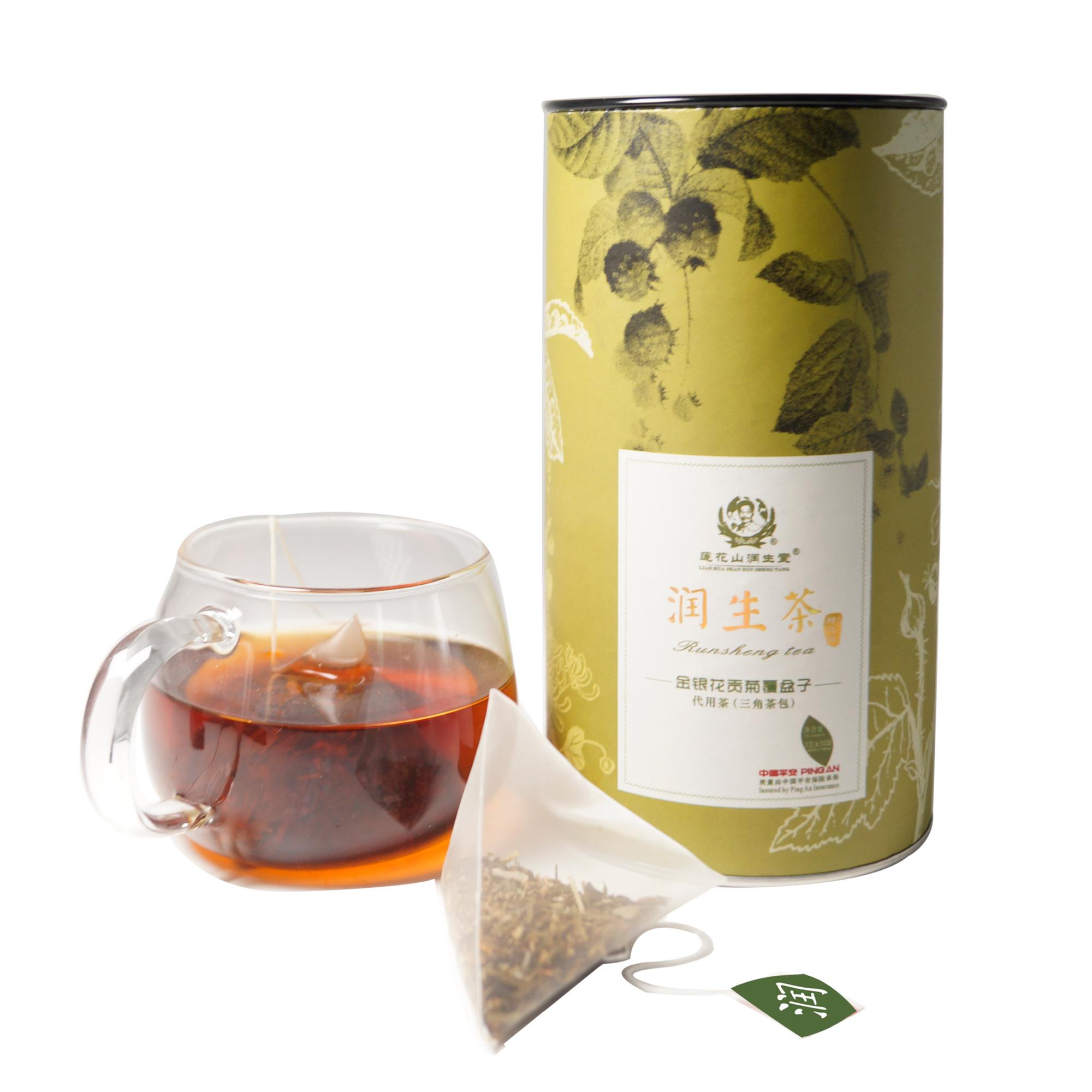 润生堂养生茶润生茶醒酒茶代用茶熬夜茶浓缩型袋泡罐装