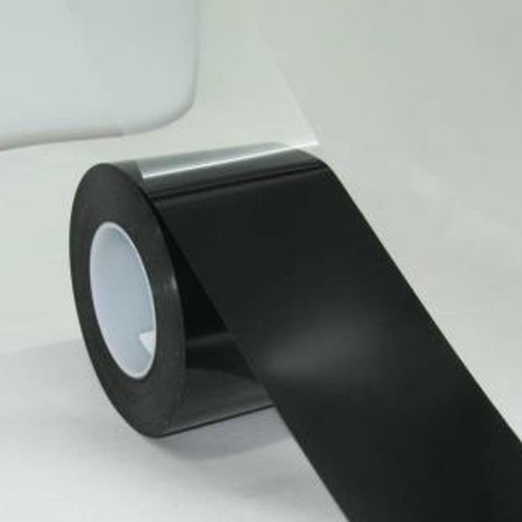 哑黑pet单面胶 PET单面遮光胶遮光胶带