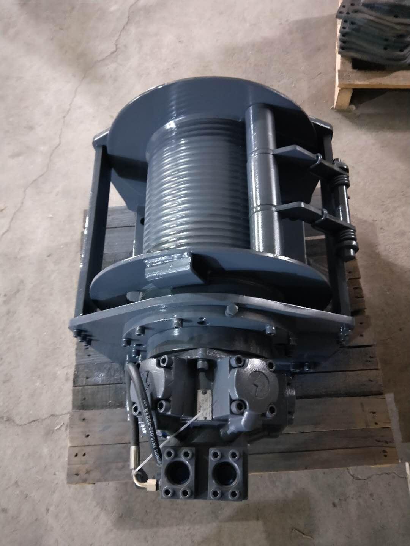供应旋转挖机液压绞车 5吨提升液压绞盘 供应履带起重机